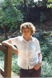 Della in woods