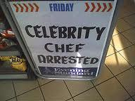 Celebrity Chef Arrested Image